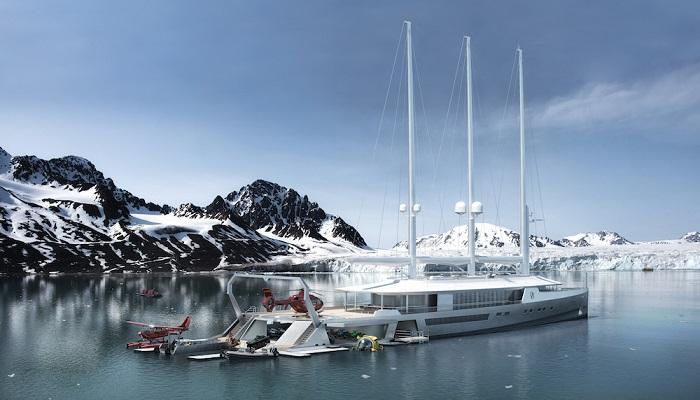 80 Metrelik Modern Bir Viking Gemisi