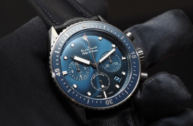 Blancpain, Mavi Tonlarına Bezenmiş Yeni Saati ile Bu Yıla Damgasını Vuruyor!