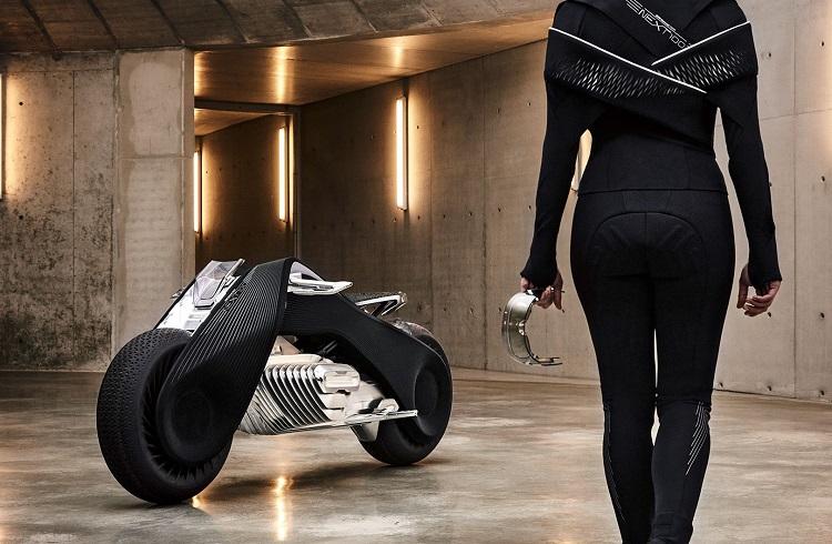 BMW Motorrad Vision Next 100 Motosiklet ile Geleceği Keşfedin!