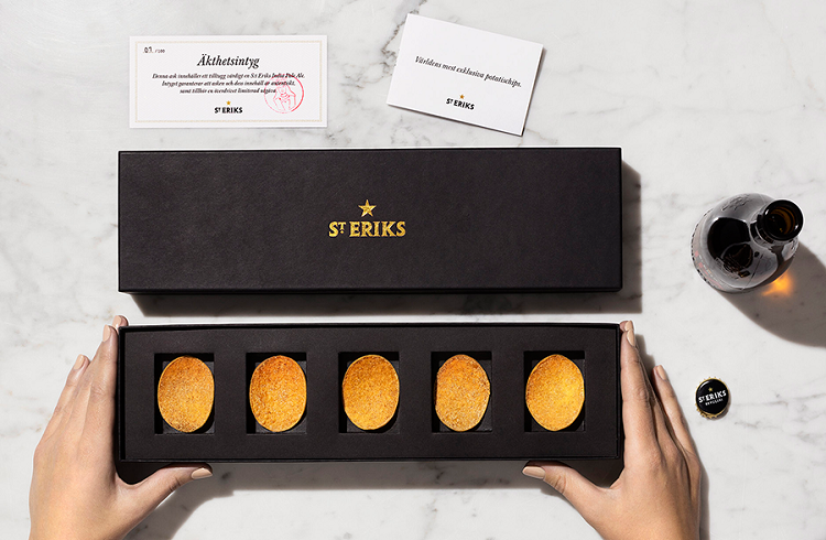 """Dünyanın En Pahalı Patates Cipsi: """"St Eriks"""""""