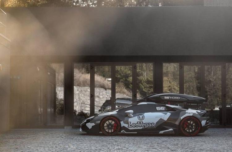 """Jon Olsson'dan Kışa Özel Bir Lamborghini Versiyonu: """"Huracan Winter Project"""""""