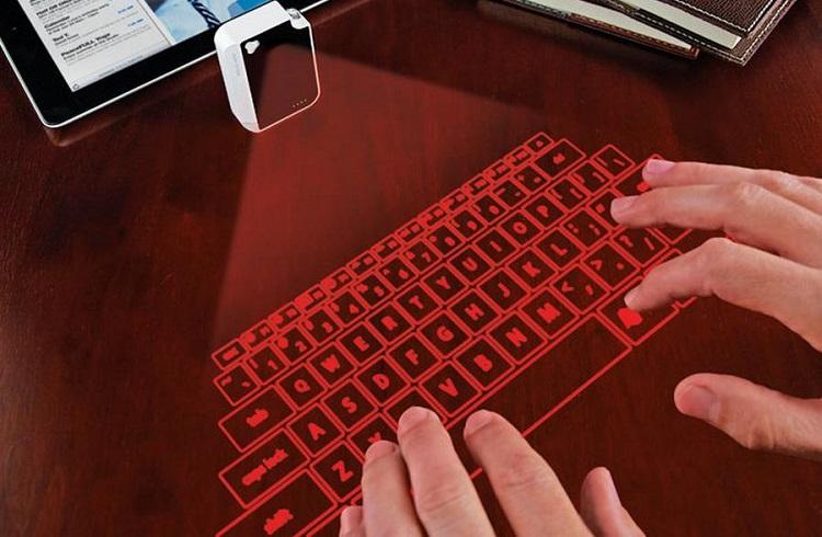 Klavyenizi Artık Hologramını Yansıtarak Kullanmanız Mümkün!