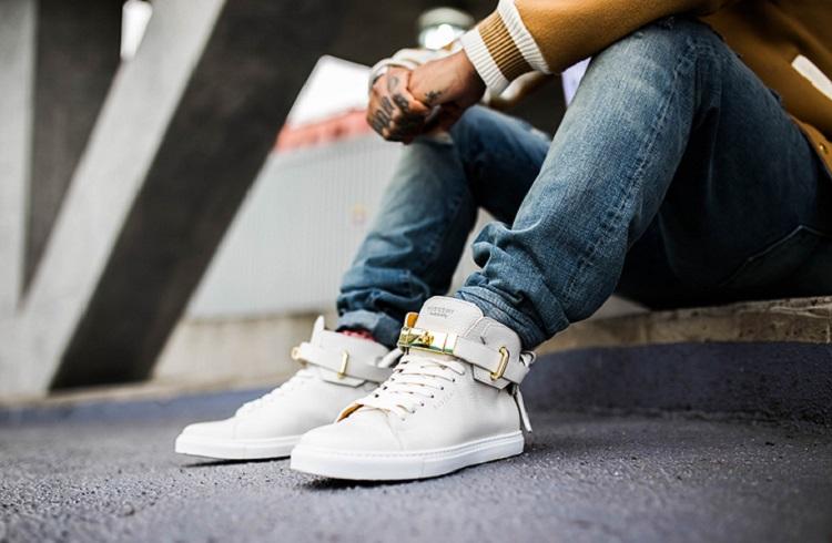 Lüksü Arayanlara Buscemi'den 100mm Diamond Sneaker