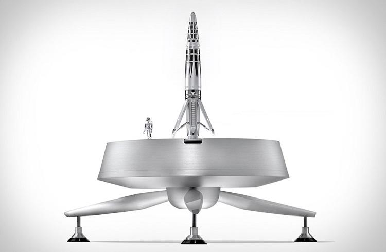 "MB&F Firmasından Roket Gibi Bir Kalem: ""Astrograph"""