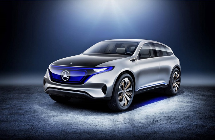 "Mercedes-Benz'in Yeni Nesil Elektrikli SUV Modeli: ""Generation EQ"""