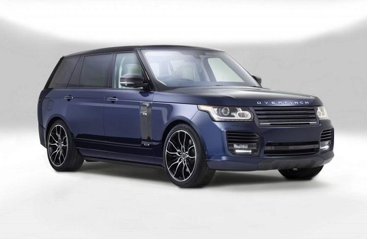 Overfinch Firmasının Dokunuşlarıyla Özelleştirilmiş Ultra Lüks Bir Range Rover Modeli