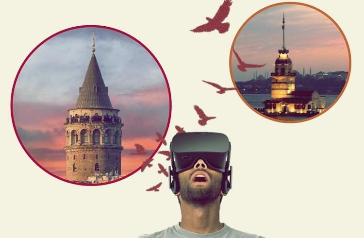 VR Gözlükleri ile İstanbul Turuna Ne Dersiniz?