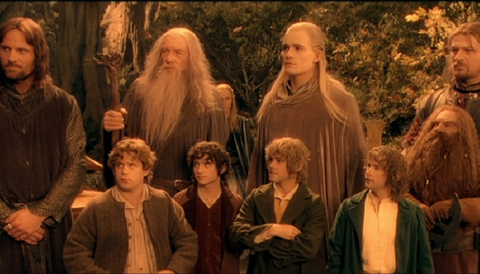 Lord Of The Rings: The Fellowship Of The Ring/ Yüzüklerin Efendisi: Yüzük Kardeşliği