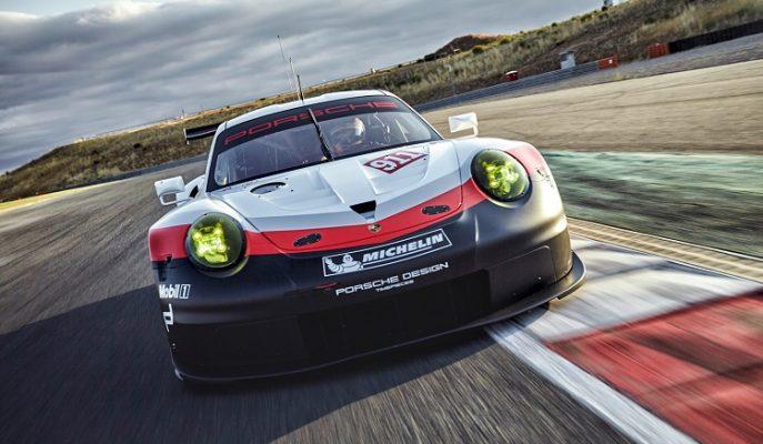 2017 Porsche 911 RSR Rekorları Altüst Etmeye Hazır!