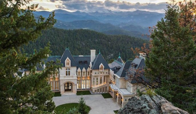 "ABD Topraklarında Krallara Layık Masalsı Bir Şato: ""Chateau V"""