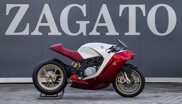 Agresif ve Fütürist Tasarımıyla MV Agusta F4Z Zagato