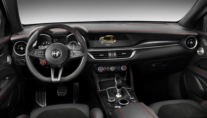 Alfa Romeo Stelvio Quadrifoglio Modelinin İç ve Dış Mekan Tasarımı