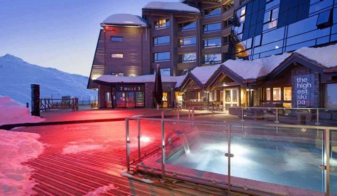 Avrupa'nın En Yüksek Kayak Merkezi Altapura Val Thorens Misafirlerini Bekliyor