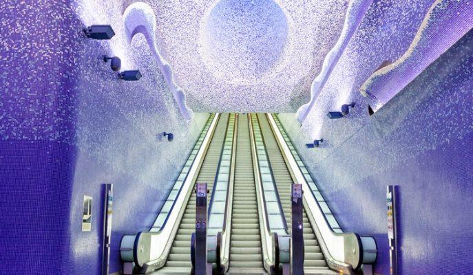 Yer Altında Harikalar Diyarı: Dünyanın En Güzel Metro İstasyonları