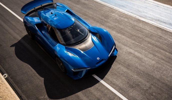 """1360 Beygirli """"NIO EP9"""" Dünyanın En Hızlı Elektrikli Arabasını Tahtından Ediyor!"""