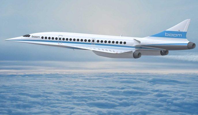"""Dünyanın En Hızlı Süpersonik Yolcu Jeti: """"Boom XB-1"""""""