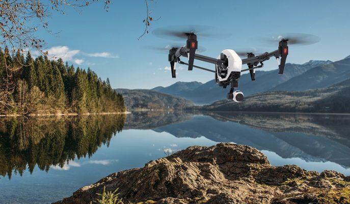 Film ve Klip Çekimlerine Özel 5.2K Çözünürlüklü DJI Inspire 2 Drone Modeli