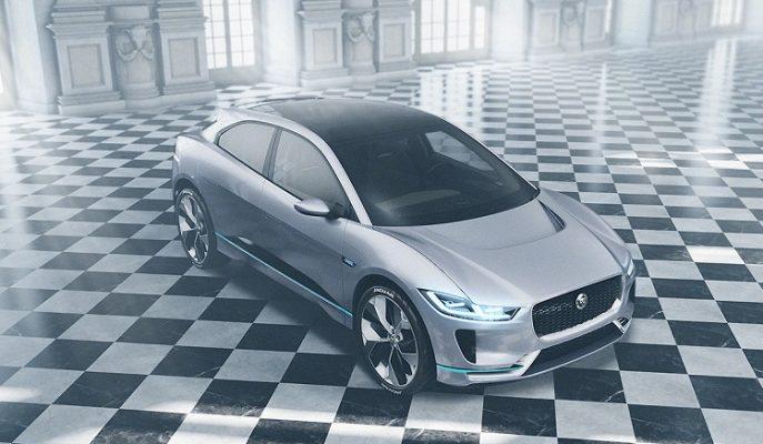 "Jaguar'ın Tamamen Elektrikli İlk SUV Modeli: ""I-Pace"""
