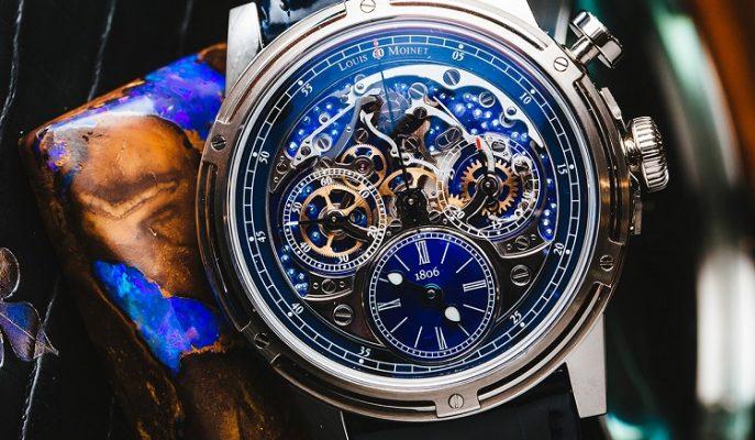 """İlk Kronograftan İlham Alınan Saat: """"Louis Moinet Memoris 200th Anniversary"""""""