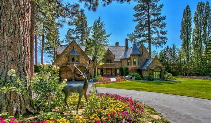 """Huzur ve Lüksün Harmanından Oluşan Nevada Rüyası: """"Castle On Lake Tahoe"""""""