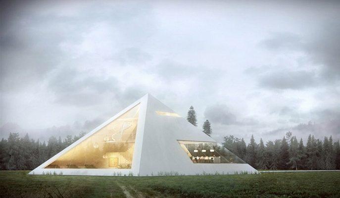 Piramit Ev ile Antik Mısırlıların Işıltılı Yaşamına Ulaşacaksınız!