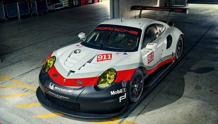 Porsche 911 RSR Modelini Şampiyonluğa Götürecek Tasarımı
