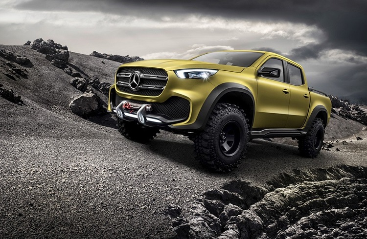 Akıllara Zarar Yeni Mercedes-Benz X-Class Pickup