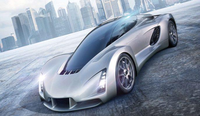 """3D Yazıcı ile Üretilen Dünyanın İlk Süper Arabası: """"Blade"""""""