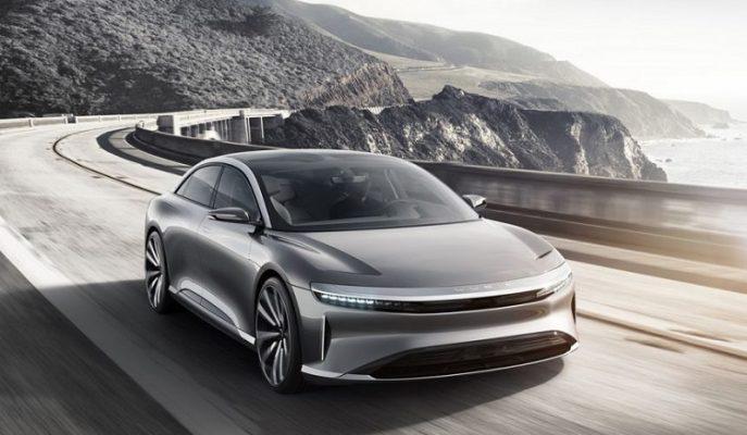 """643 Kilometre Menzilli Elektrikli Özel Bir Otomobil: """"Lucid Air"""""""