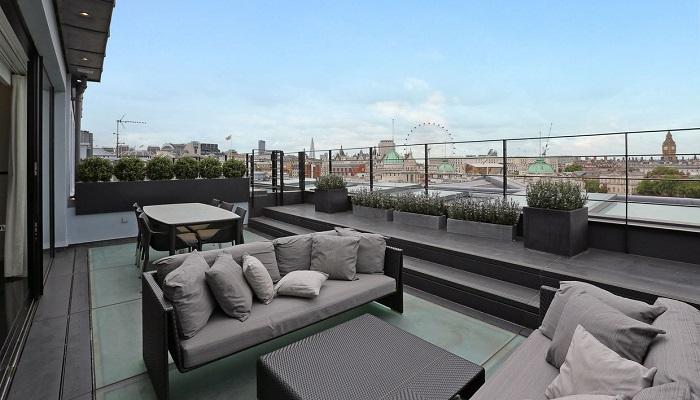 Carlton House Terrace Çatı Katı Dairesinin Fiyatı