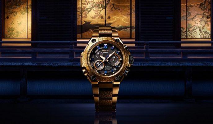 """Casio'dan Özel ve Lüks Bir G-Shock Modeli: """"MR-G Gold Hammer Tone"""""""