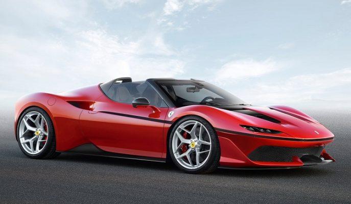 Ferrari J50 Modeli Gücü ve Güzelliğiyle Otomotiv Devlerini Kıskandıracak!