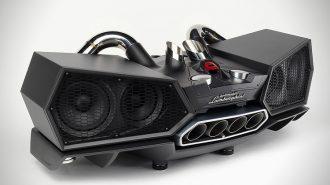 Lamborghini ESAVOX Ses Sistemiyle Gücü Evinize Getiriyor!