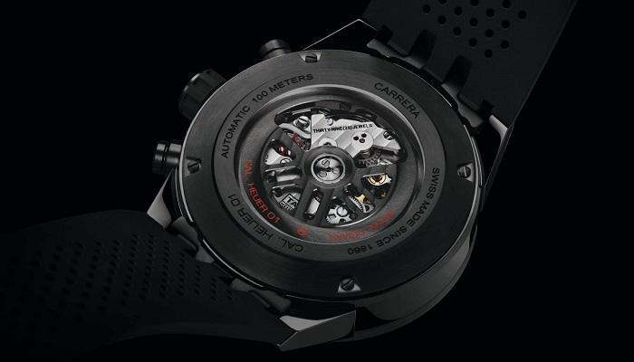 Markanın Kusursuz Mekanizmasıyla Donatılan Yeni Carrera-01 Saati