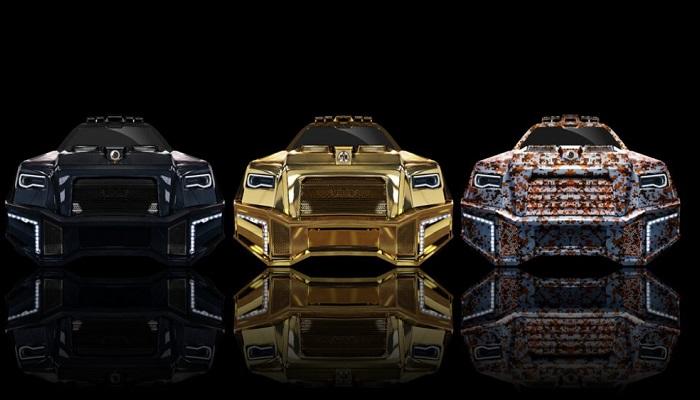 Mercedes Modelinden Dönüştürülen Benzersiz Bir SUV