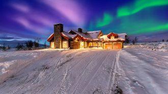 """Norveç'in En Lüks Yapılarından Biri: """"Skarveglott"""""""