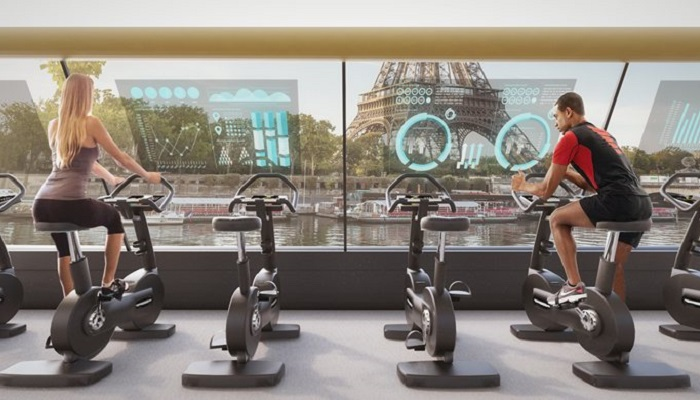 Paris Navigating Gym Projesinin Tasarımı