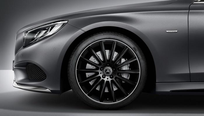 S-Class Coupe Night Edition Serisinin Tasarım Özellikleri