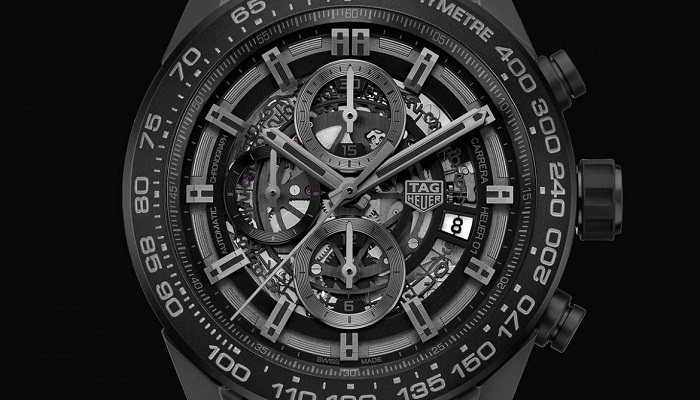 TAG Heuer Carrera Heuer-01 Full Black Matt Ceramic Saatinin Fiyatı