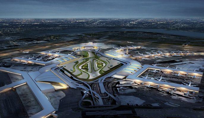 10 Milyar Dolarlık Restorasyon Sonrası John F. Kennedy Havalimanı Nasıl Görünecek?