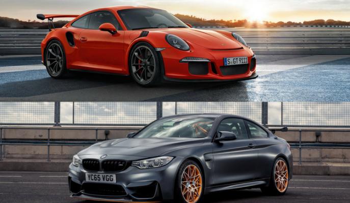 "İki Güçlü Alman'ın Karşılaştırması: ""Porsche 911 GT3 RS vs BMW M4 GTS"""