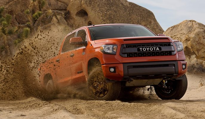 """Amerikan Pazarının Vazgeçilmez Pick-up'ı: """"Toyota Tundra"""""""