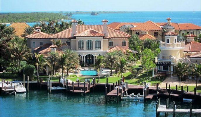 """Bahamalar'da 21.5 Milyon Dolarlık Bir Harikalar Diyarı: """"Villa Florentine"""""""