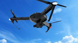 """Saatte 120 Kilometrelik Hızıyla Dünyanın En Hızlı Drone Modeli: """"Yi Erida"""""""