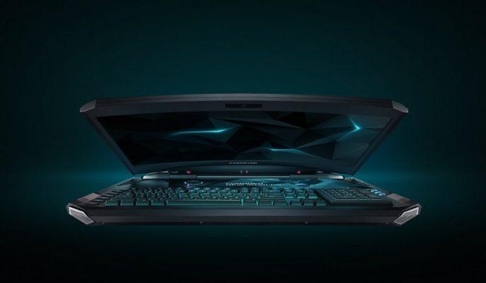 """Dünyanın İlk Kavisli Ekrana Sahip Dizüstü Bilgisayarı: """"Acer Predator 21 X"""""""