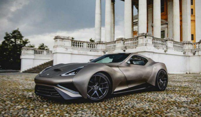 """Dünyanın Titanyumdan Yapılan İlk Arabası: """"Icona Vulcano"""""""
