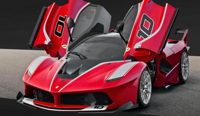 Sınırlı Sayıda Üretilen 3 Milyon Dolarlık Ferrari FXX-K