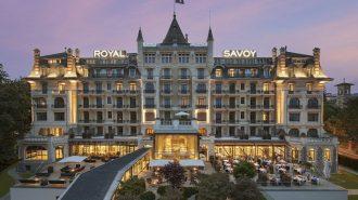 """Lozan'ın Kalbinde Tarihi ve Gösterişli Bir Otel: """"Royal Savoy"""""""