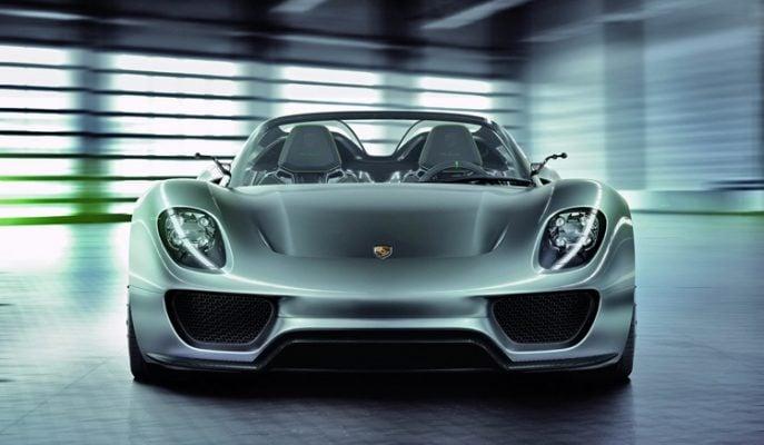 """Porsche Tutkunlarına En Hızlısı Geldi: """"918 Spyder"""""""