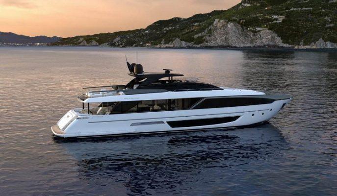 Riva'nın Lüks Yatı 110 Flybridge Dalgalı Denizlere Hükmedecek!